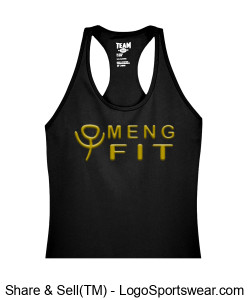 Team 365 Ladies'  Zone Performance Racerback Tank Design Zoom